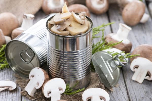 Low FODMAP Canned Champignon Mushrooms