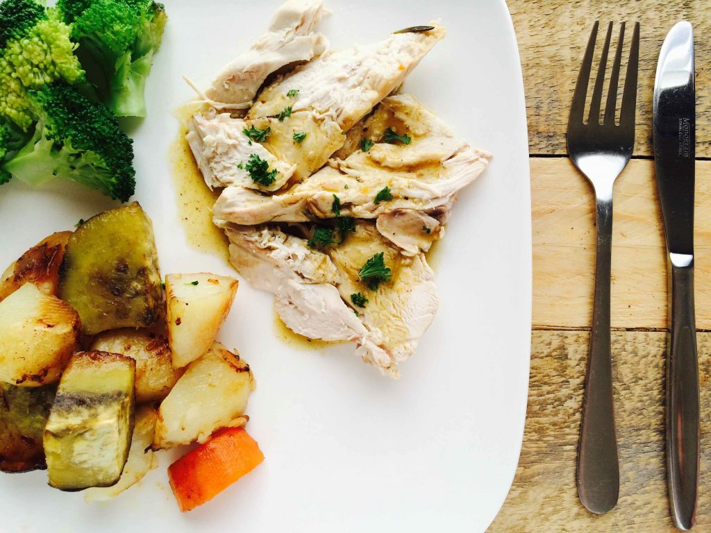 Low FODMAP Homemade Chicken Gravy