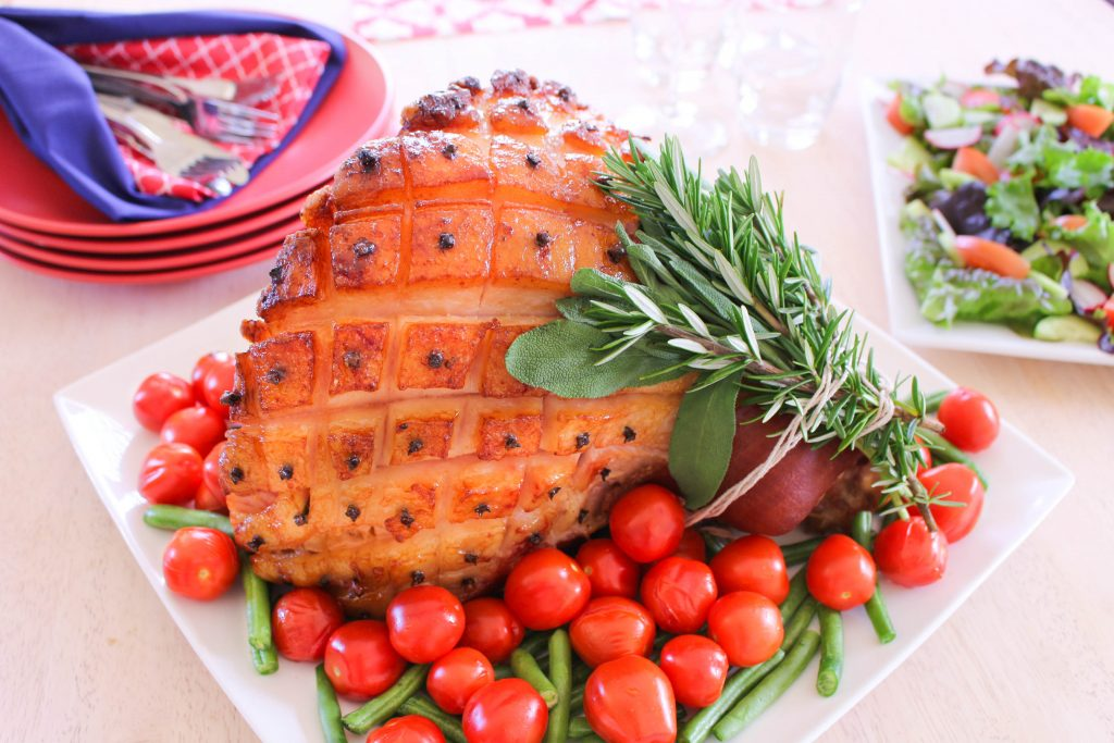 Low FODMAP glazed ham