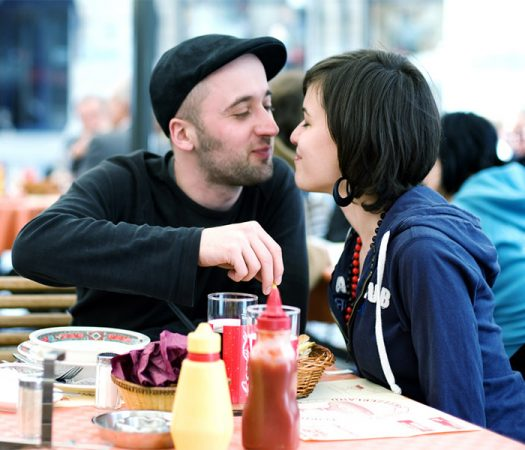 Cute Couple Learning How to Survive a Date while on the Low FODMAP Diet