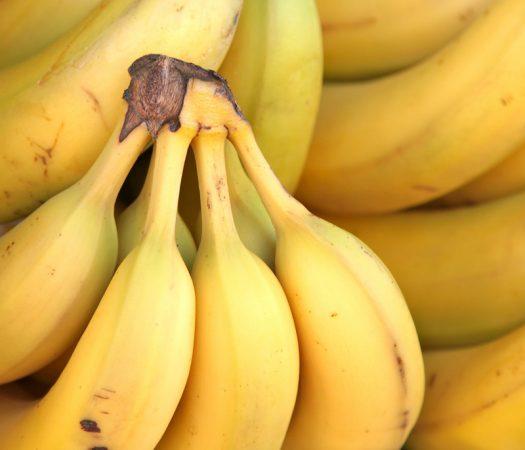 Low FODMAP common bananas