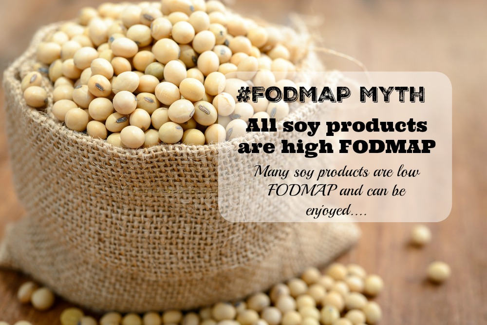 confused about soy the low fodmap diet
