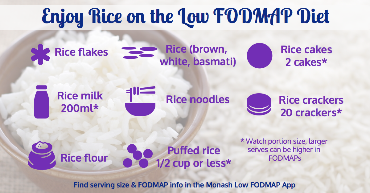 Rice & The Low FODMAP Diet - A Little Bit Yummy