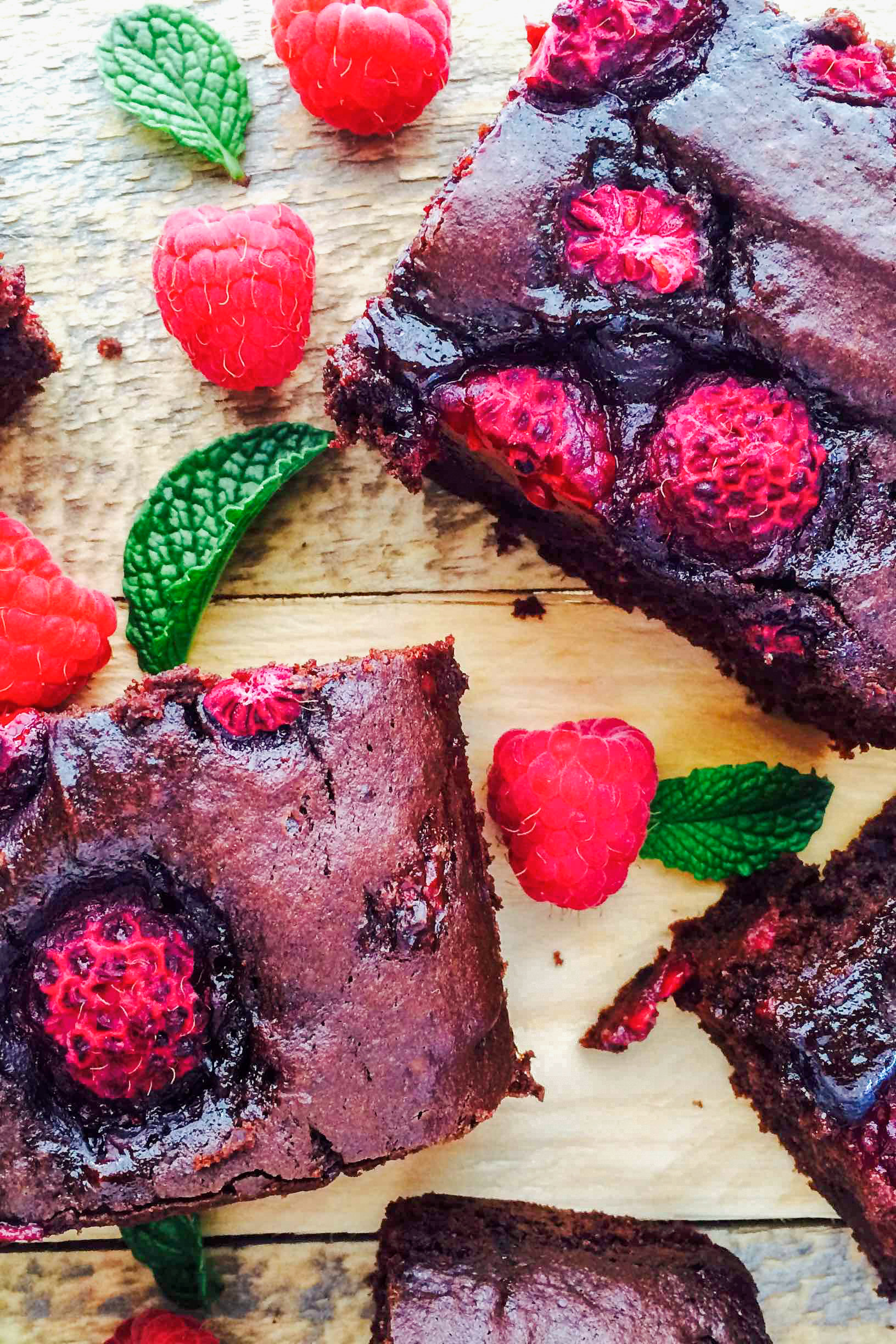 Dark Chocolate Raspberry Brownie A Little Bit Yummy