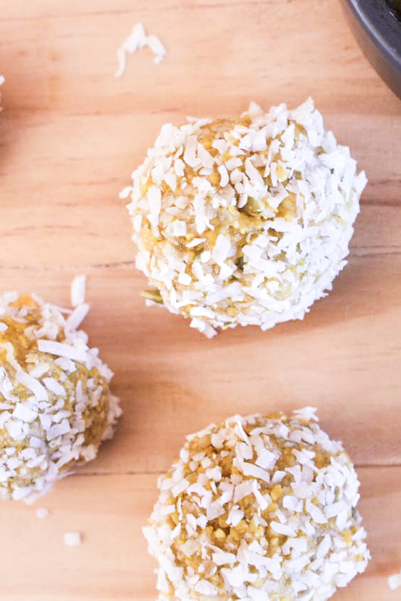 Low FODMAP Snack Balls