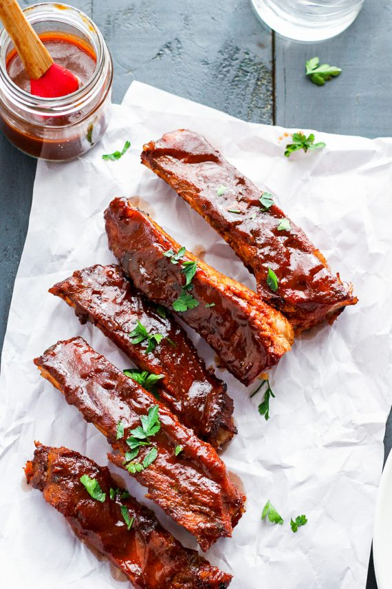 Low FODMAP Sticky Pork Ribs