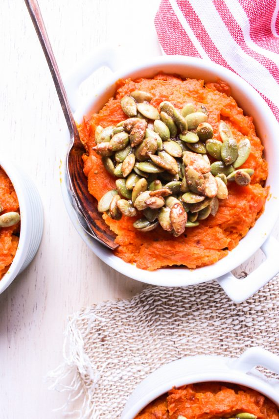 Mini Sweet Potato And Carrot Casseroles (Low FODMAP)
