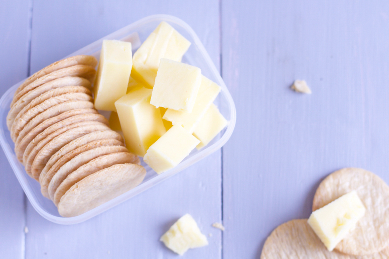 Low FODMAP Cheese & Rice Crackers