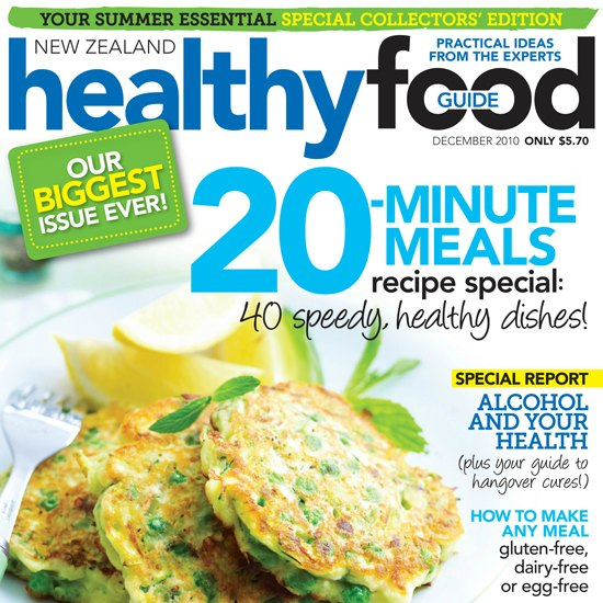 Publications a little bit yummy articles published in healthy food guide magazine forumfinder Images