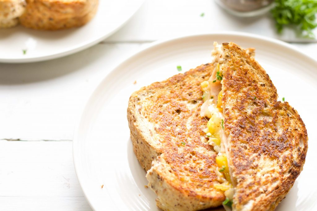 Low FODMAP Hawaiian Toastie
