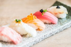 Low FODMAP Sashimi