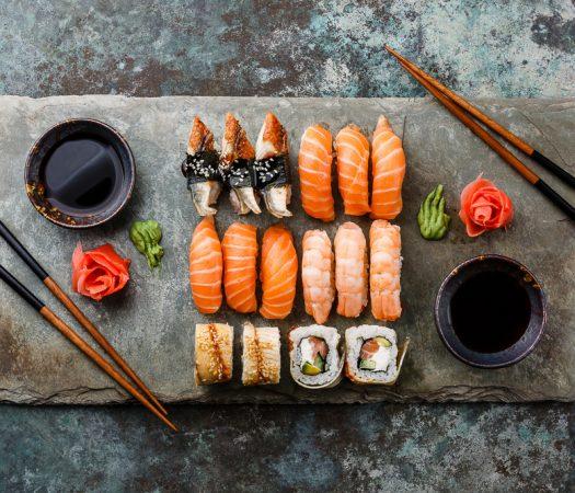 Low FODMAP Sushi