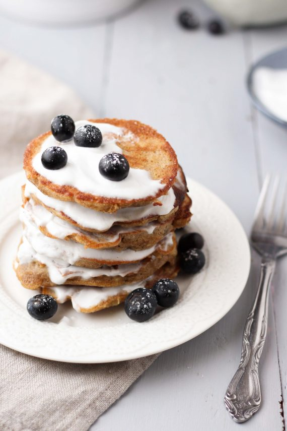 Low FODMAP Banana Pancakes