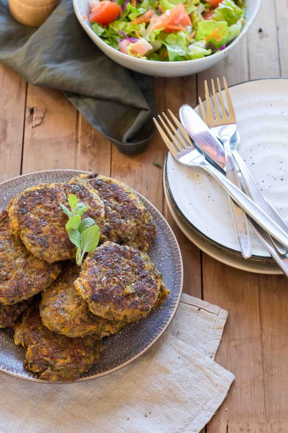 Low FODMAP Sweet Potato & Lamb Fritters