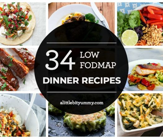 34 Low FODMAP Dinner Recipes