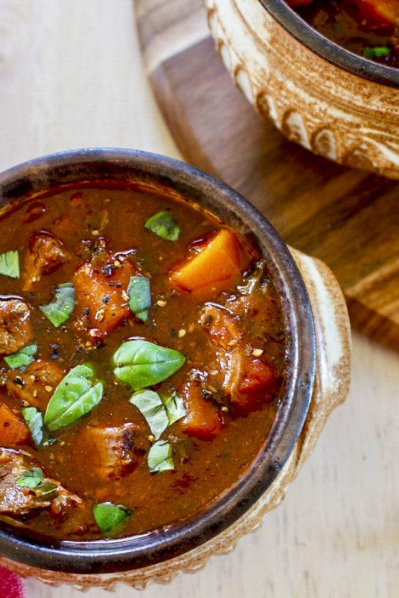 Low FODMAP Easy Peasy Beef Stew