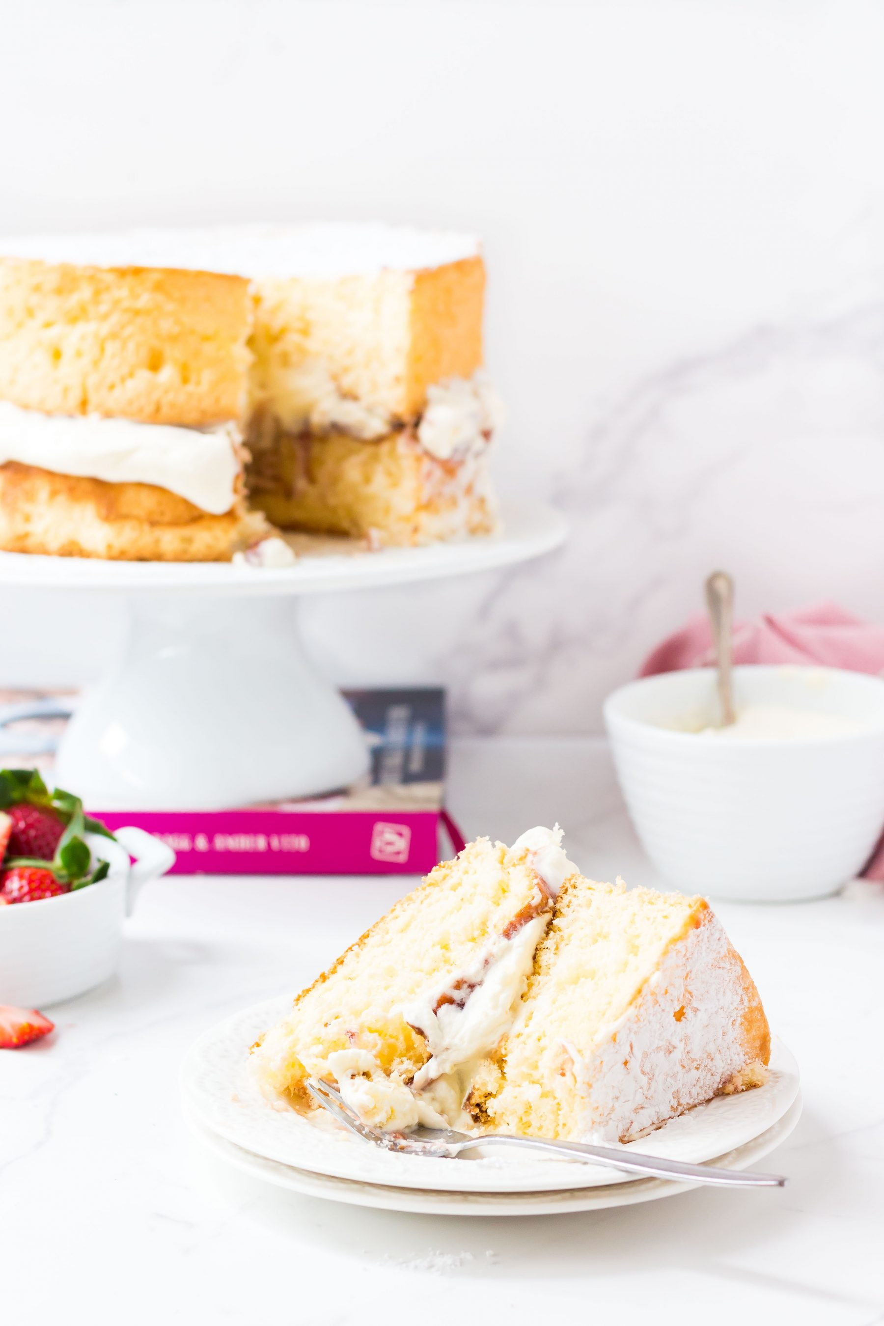 Low FODMAP Sponge Cake