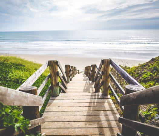 A Fresh Start Beach Scene