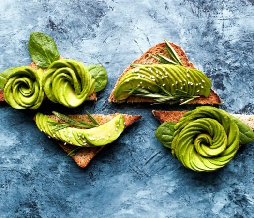Is Avocado Low FODMAP - avocado on toast