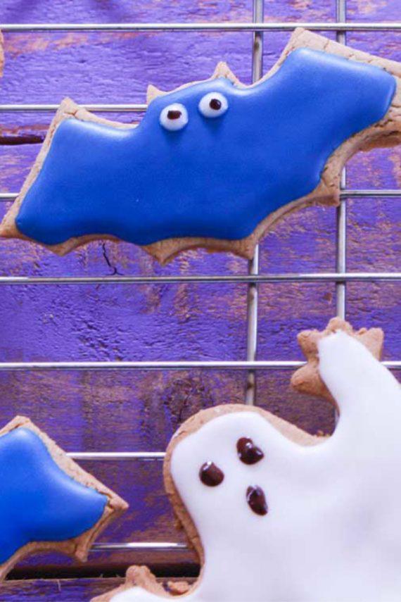 Low FODMAP Halloween Ginger Cookies