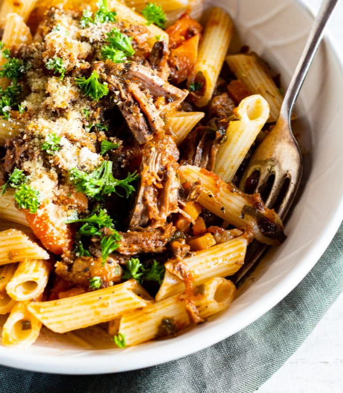 Low FODMAP Beef Ragu