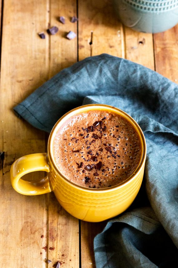 Low FODMAP Mexican Hot Chocolate