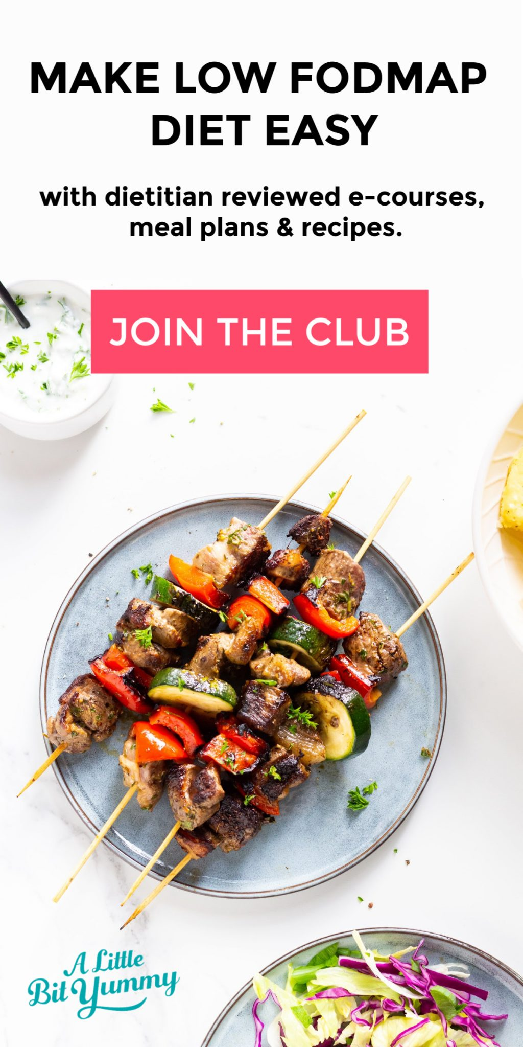 FODMAP Club Side Bar Banner