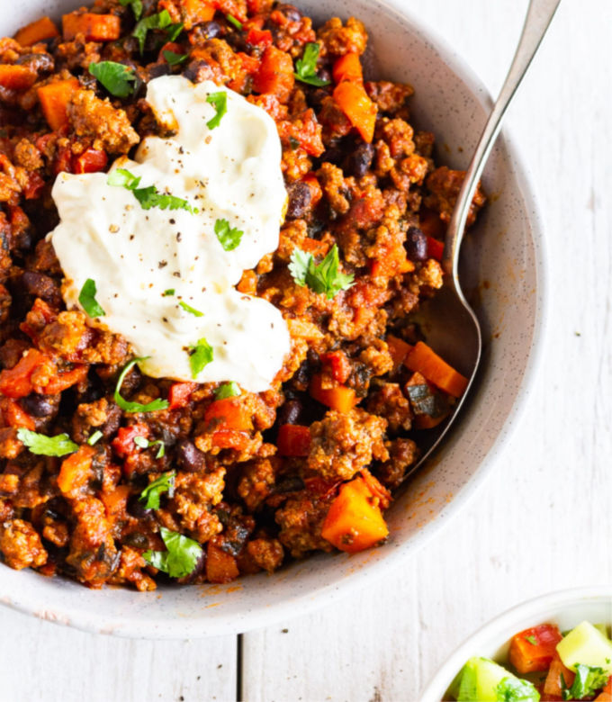 Low FODMAP Chilli Con Carne