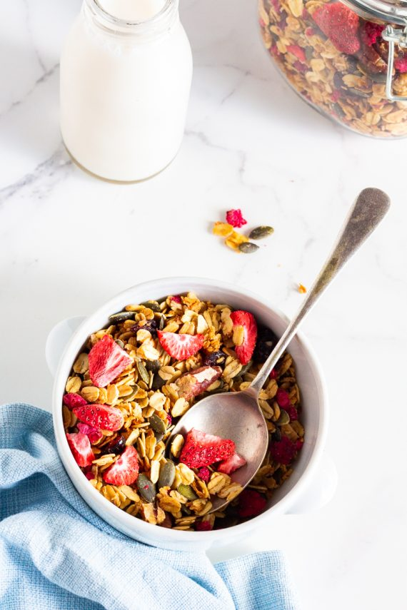 Low FODMAP Berry Nice Muesli