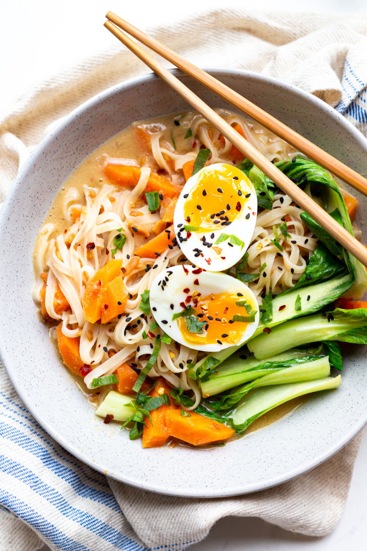 Low FODMAP Cheats Vegetarian Noodle Bo